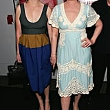Meryl and Grace hit the NYC premiere of A Prairie Home Companion in 2006.
