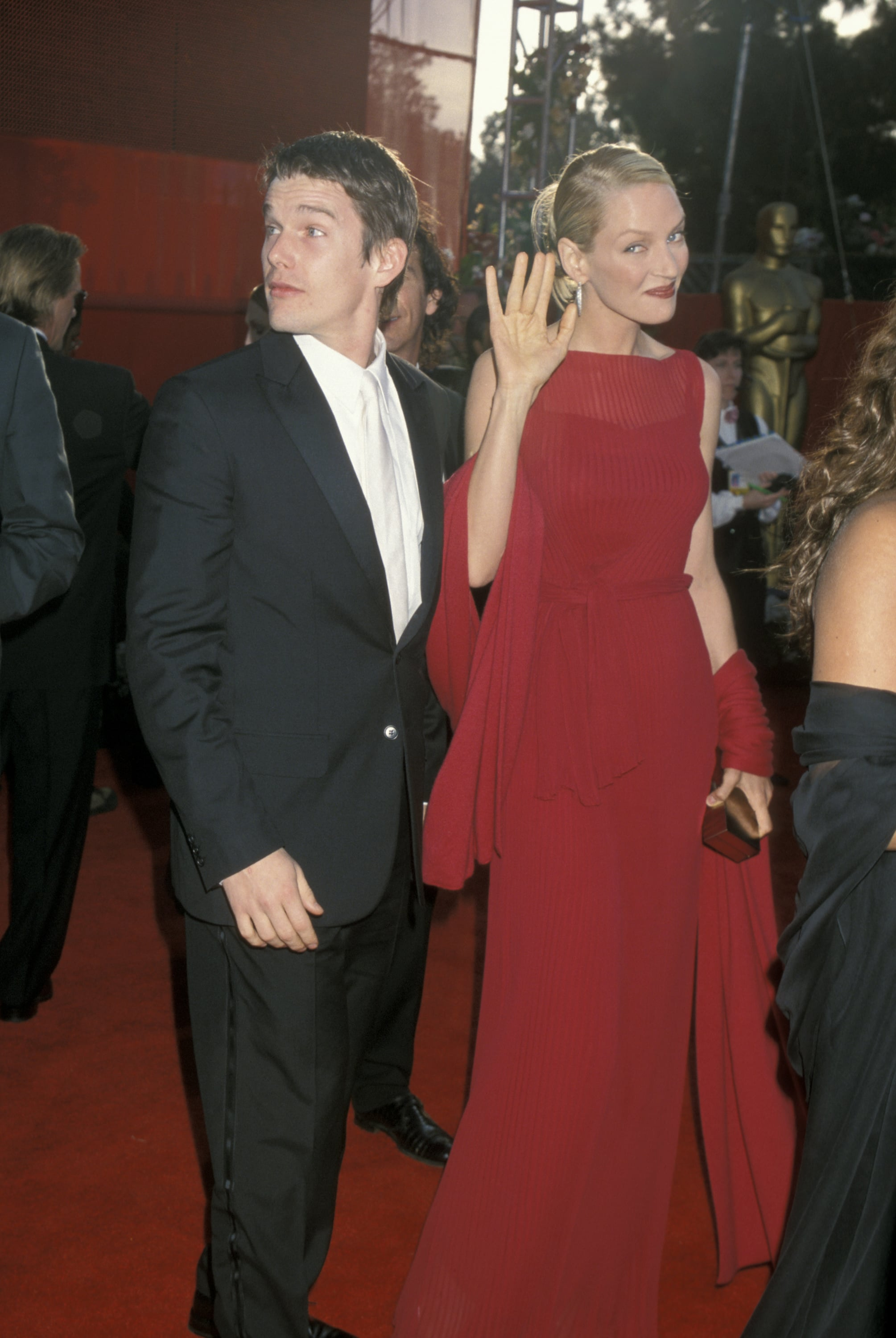 Uma Thurman at the 2000 Academy Awards