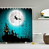 Vintage Halloween Shower Curtain