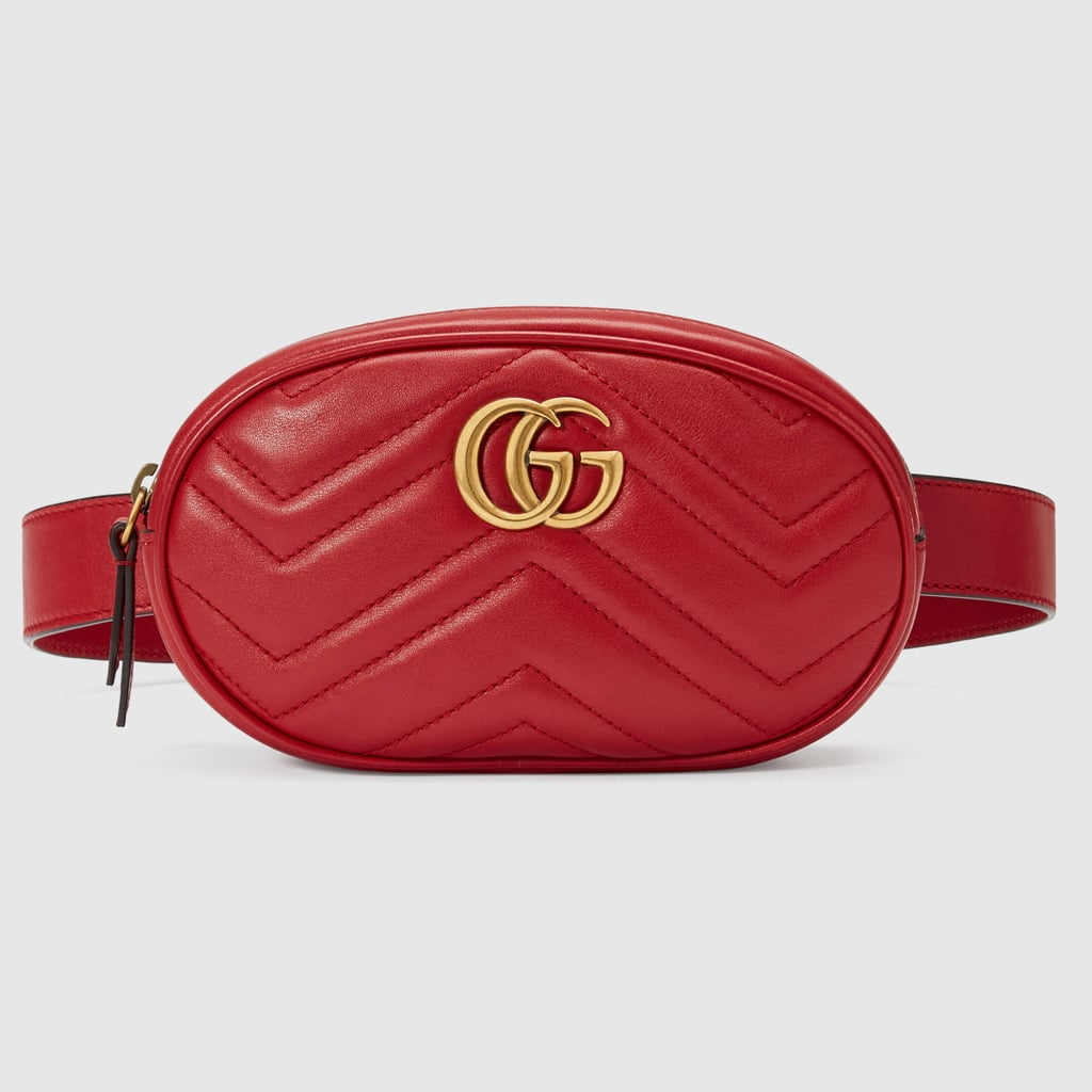 e5d90255441003 Gucci GG Marmont Matelassé Leather Belt Bag | How to Wear a Fanny ...