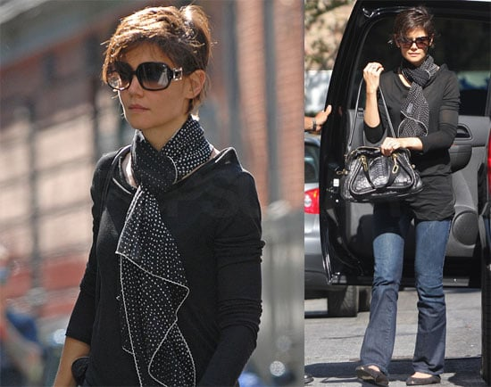 Photos of Katie Holmes in New York City