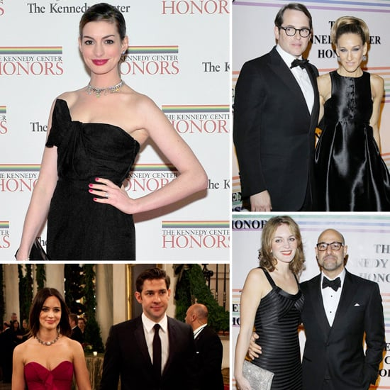 Anne Hathaway Ring Pictures At Kennedy Center Honors