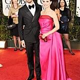 Benjamin Millepied and Natalie Portman