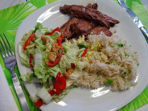 Reader Recipe: Grilled Asian Flank Steak With Slaw
