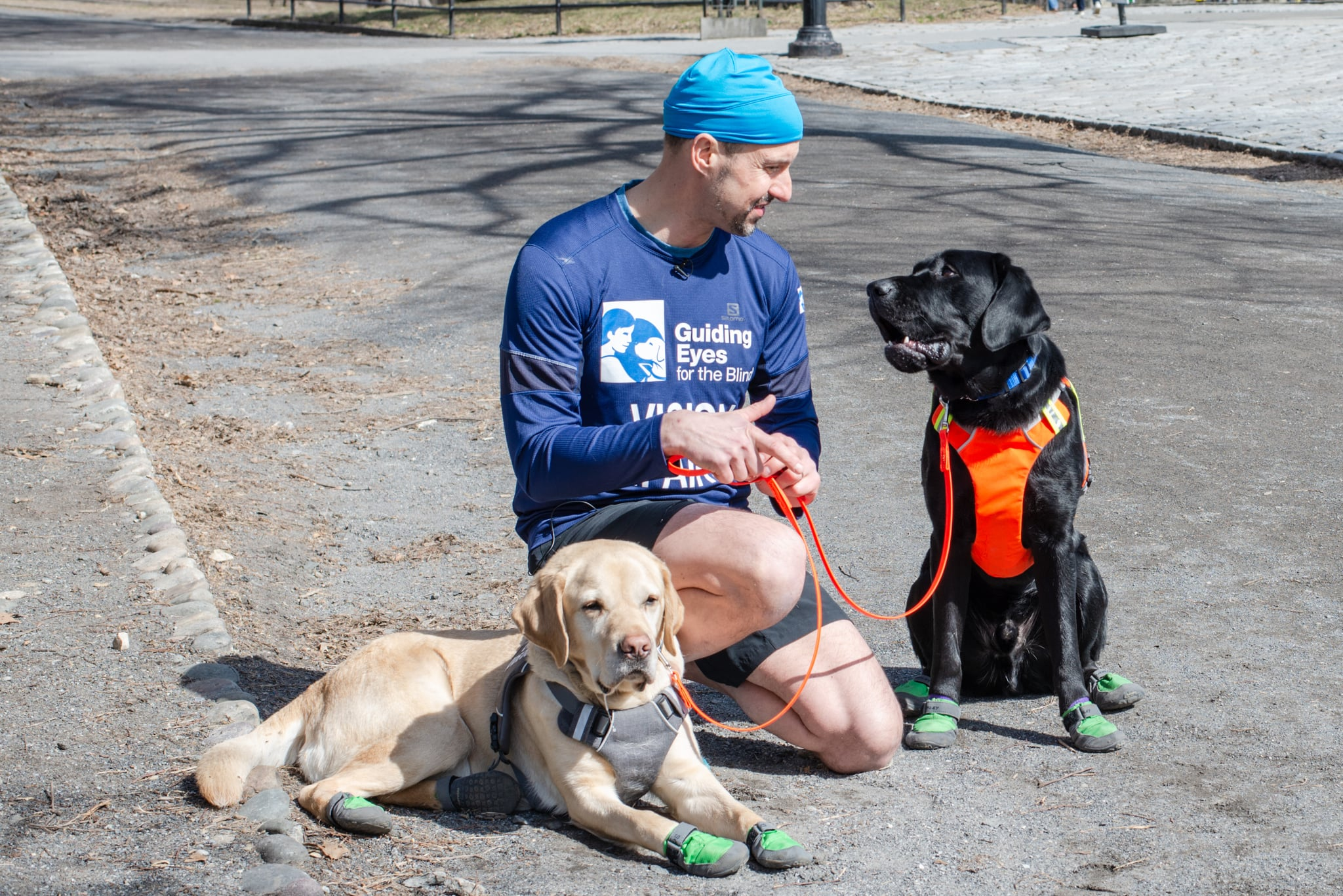Thomas Panek and Guide Dogs