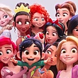There is an official Disney princess lineup.