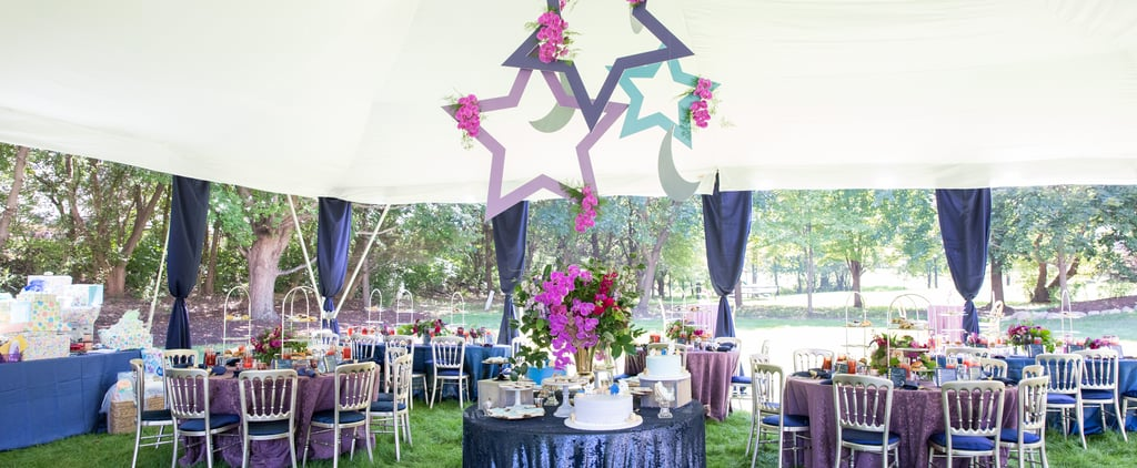 Star and Moon Baby Shower Ideas