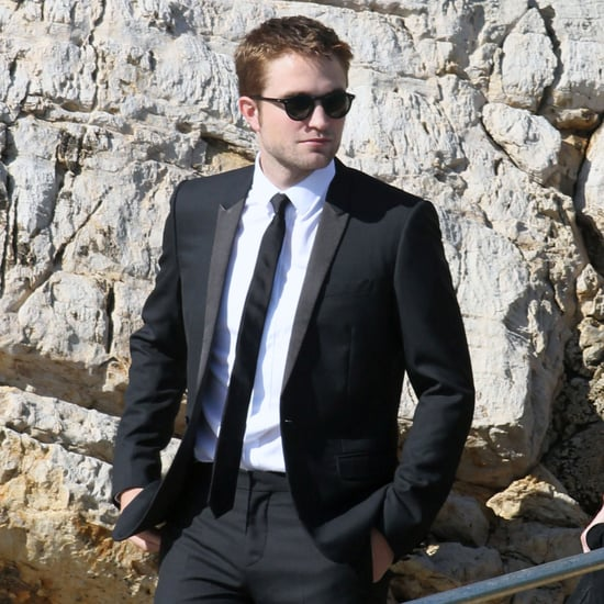 Robert Pattinson Boating Tuxedo Pictures at Cannes Film Fest