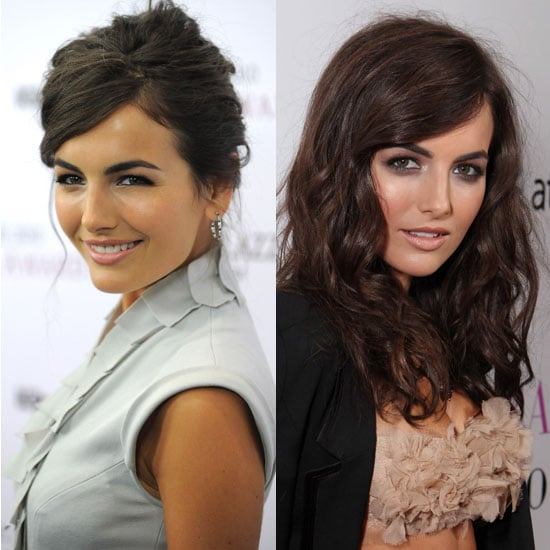 Camilla Belle Wears Sexy Makeup and Clothes