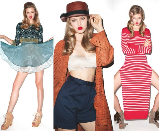Opening Ceremony Spring 2011 Lookbook With Lindsey Wixson