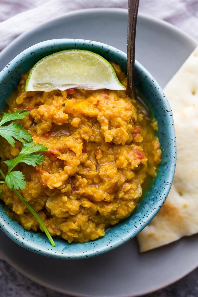 Slow-Cooker Butternut Squash Lentil Curry