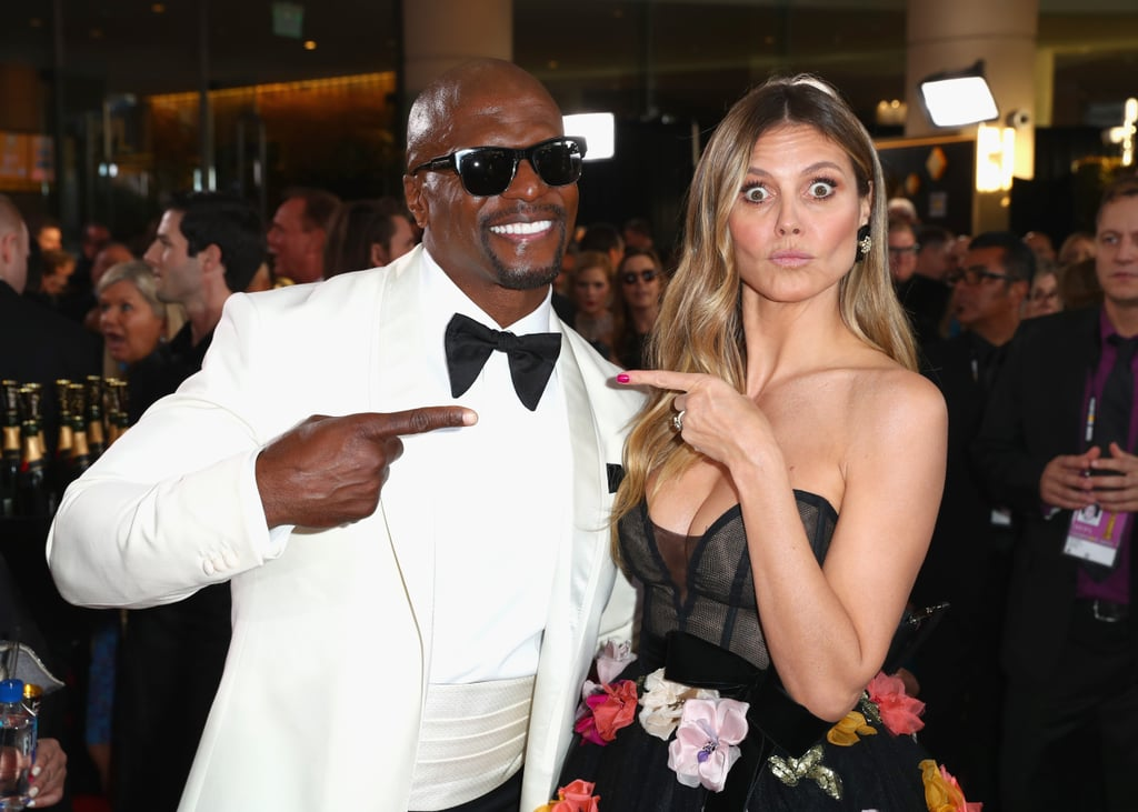 Terry Crews and Heidi Klum showed off their silly sides at the 2019 gathering.