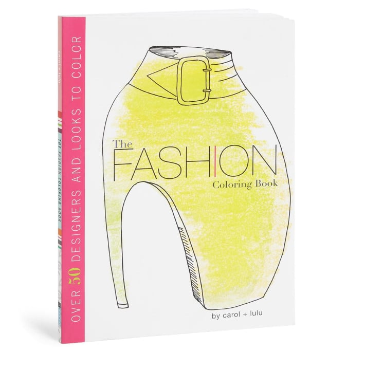 The Fashion Coloring Book ($13)