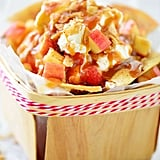 Apple Nachos With Cinnamon Chips