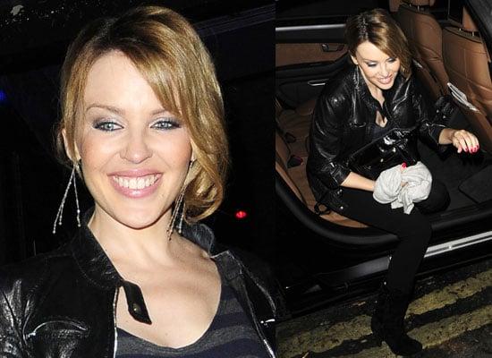 15/10/08 Kylie Minogue At Underwear Launch