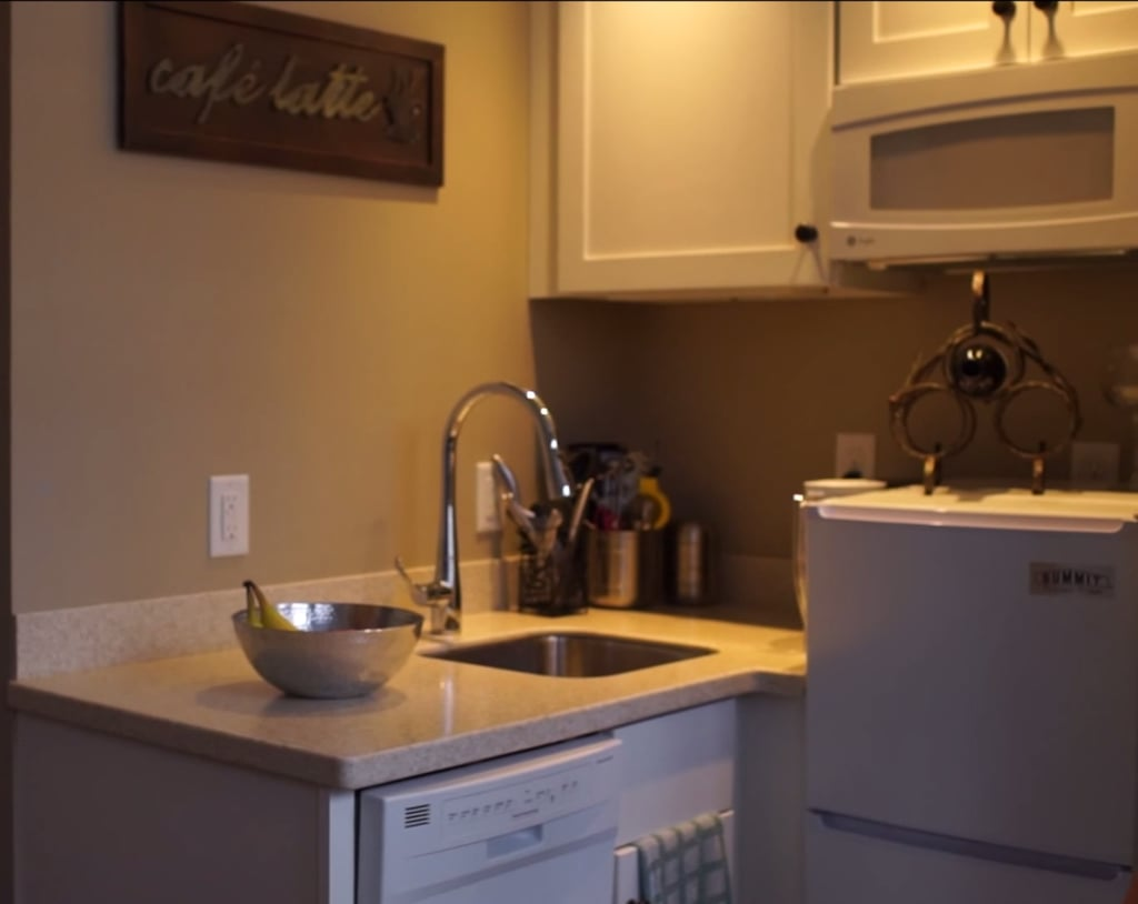 While the utility kitchens don't have ovens in them, they're great for city living.