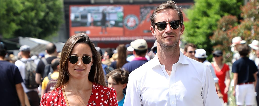 Pippa Middleton and James Matthews at French Open in Paris