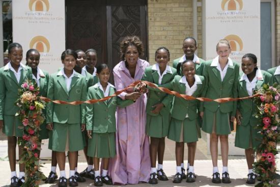 Oprah Opens A School