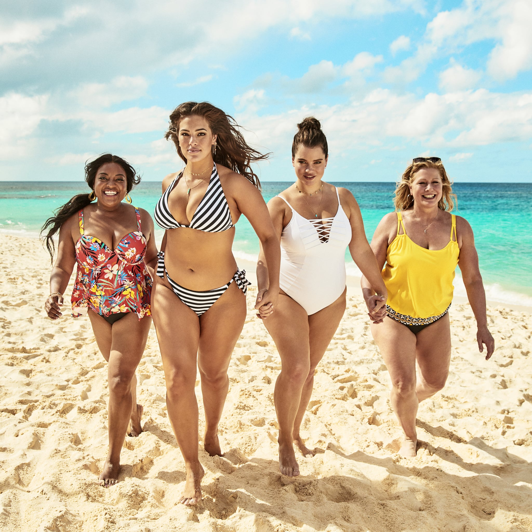1e37fbab77 Swimsuits For All x KingSize Swimsuits Campaign 2019 | POPSUGAR Fashion