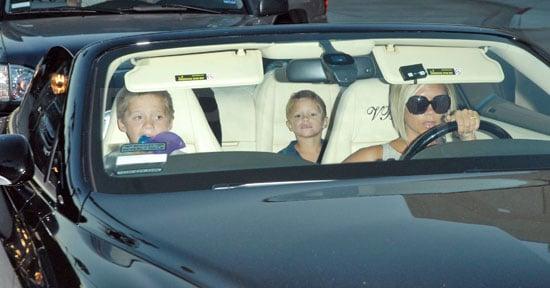 Posh Chauffeurs While Becks Blogs