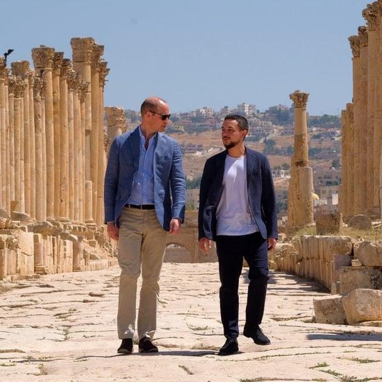 Prince William in Jordan