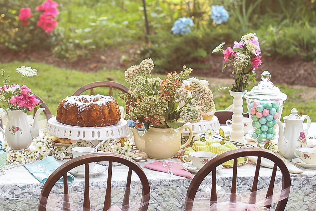This Secret Garden Themed Soiree Gives Ladies Who Lunch A Whole New Meaning