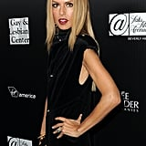 Rachel Zoe wore black to an event supporting the Gay and Lesbian Center's homeless youth services.