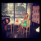 Jessica Alba stopped by the Today show to chat with Kathy Lee Gifford and Hoda Kotb.  Source: Instagram user jessicaalba