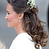 Pippa might even have headpiece like she did for the royal wedding