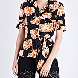 Ganni Geroux silk blouse