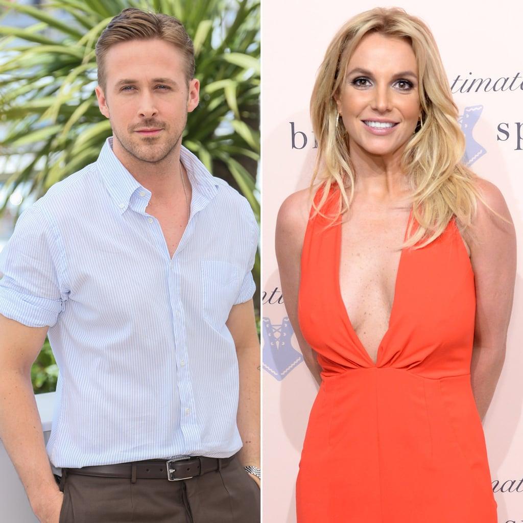 Ryan Gosling and Britney Spears