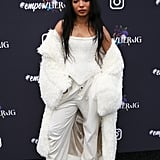 Diana Gordon at Instagram's 2020 Grammy Luncheon in LA