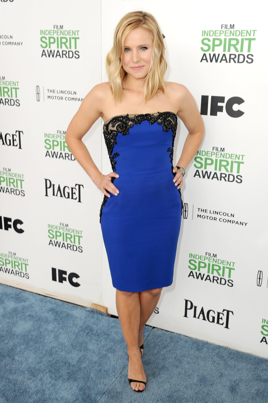 Kristen Bell at the 2014 Spirit Awards