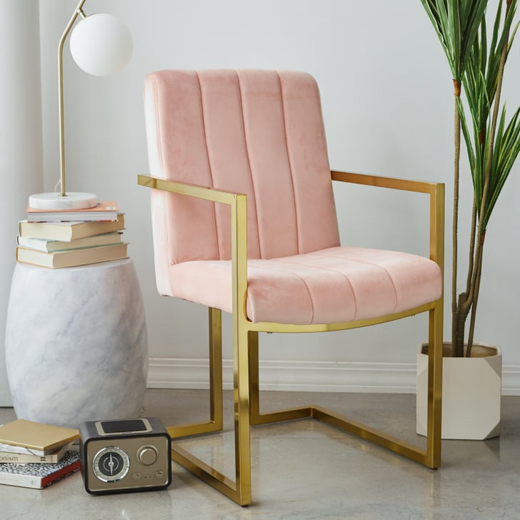 MoDRN Glam Marion Channel Tufted Office Chair