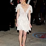 Kirsten Wearing Her Christian Lacroix Dress to the Vanity Fair Oscars Party in 2004