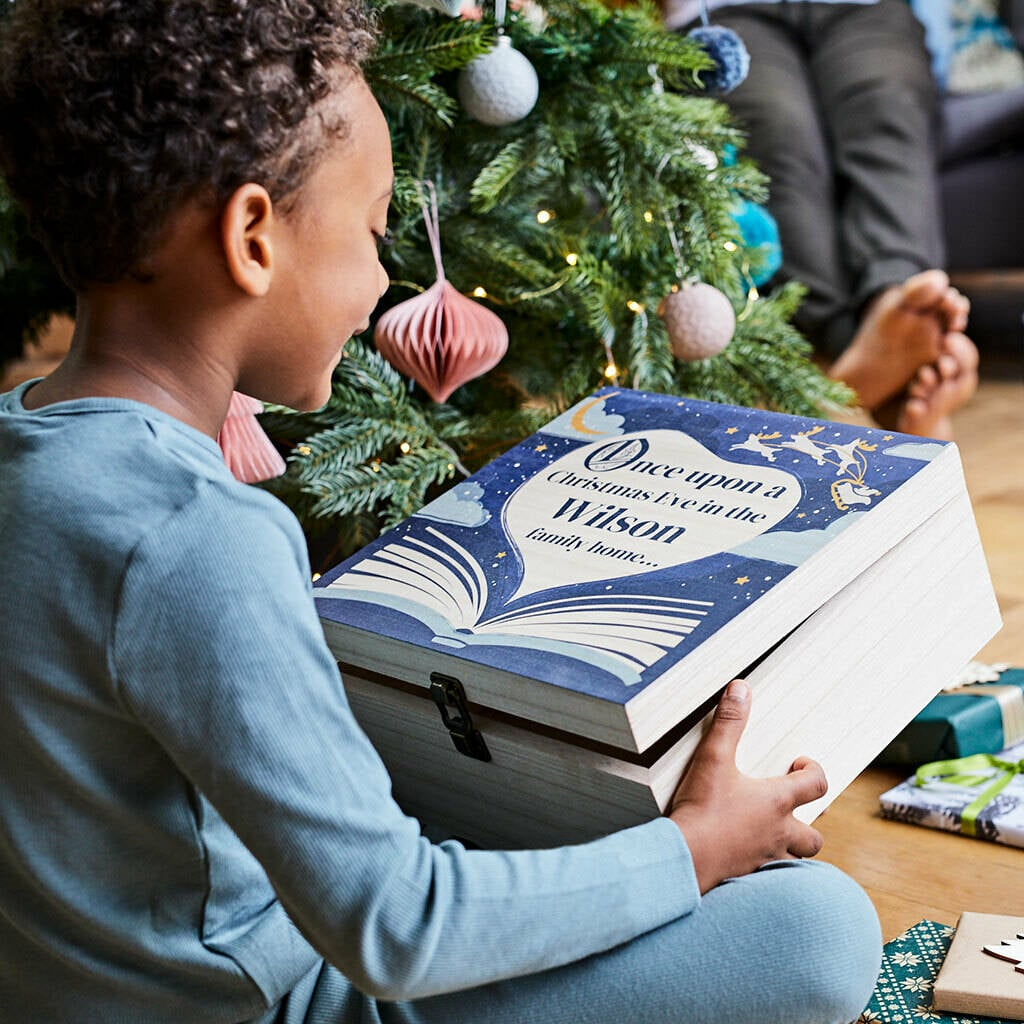 The Letteroom Personalised Bookishly Collaboration Christmas Eve Box