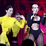 "Dua Lipa Performing ""Don't Start Now"" at MTV EMAs Video"