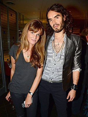Russell Brand and Jemima Khan Are 'Really Into Each Other,' Says Source