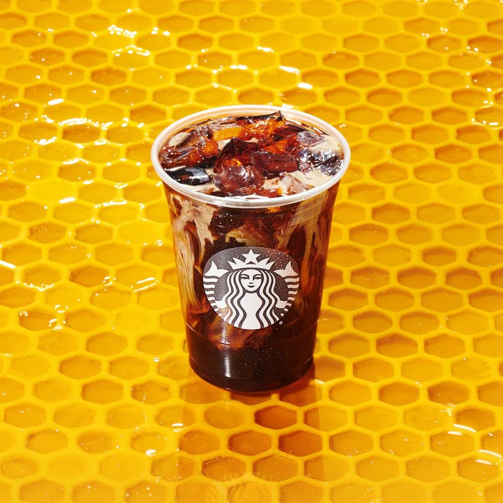 Starbucks New Honey Almond Milk Cold Brew