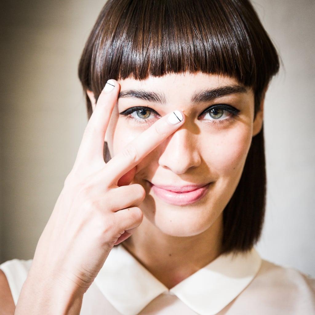 Linear Nail Art Trend | POPSUGAR Beauty