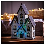 Halloween Polystone Haunted House LED Décor