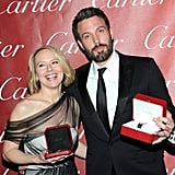 """Natalie Chokes Up Over Benjamin and Javier Thanks His """"Gift"""" Penelope at the Palm Springs Gala"""