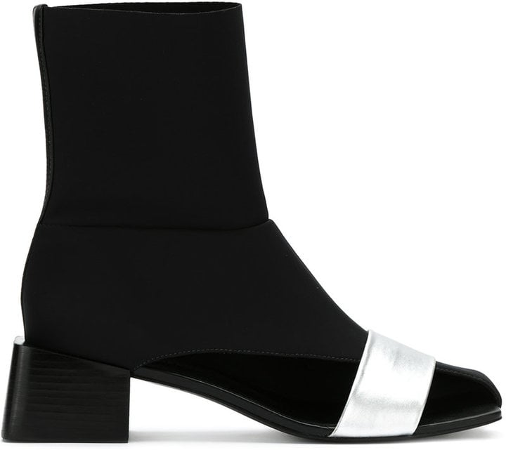 Gloria Coelho Asymmetric Boots