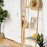 Carina Rattan Leaning Accessories Ladder