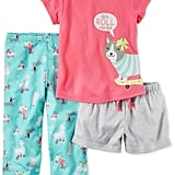 Carter's Let's Roll Skateboarding Dog Pajama Set