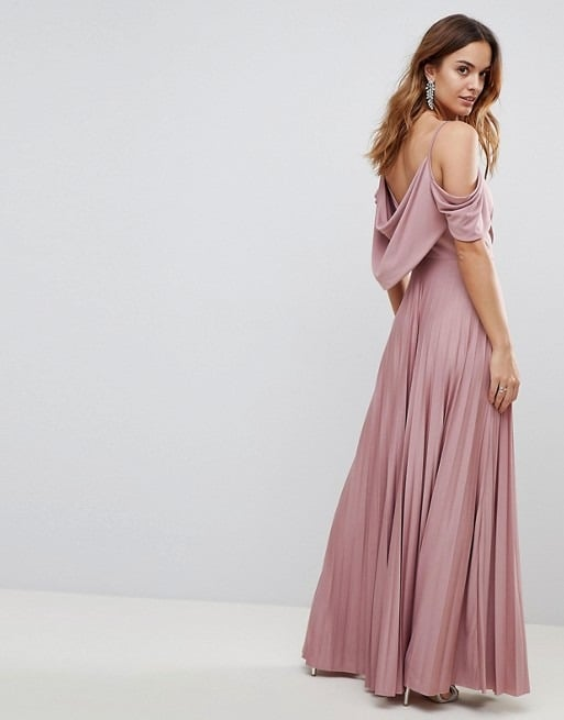 8b6bbe9ed7ba4 ASOS Pink Maxi Dress