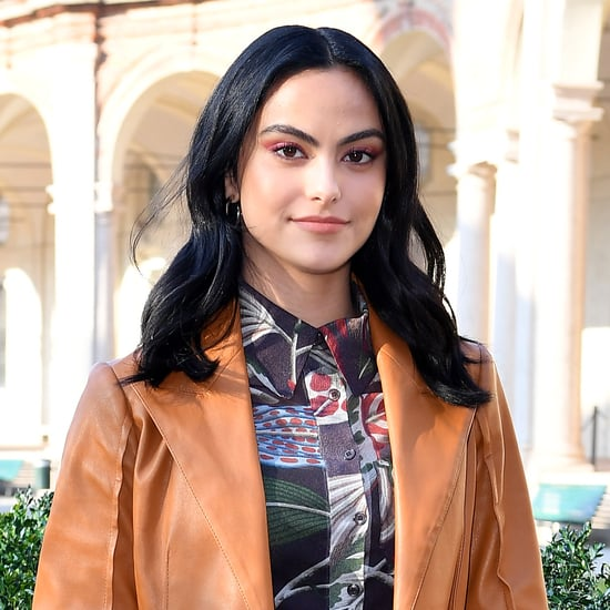 Camila Mendes's Cactus Nail Art Manicure