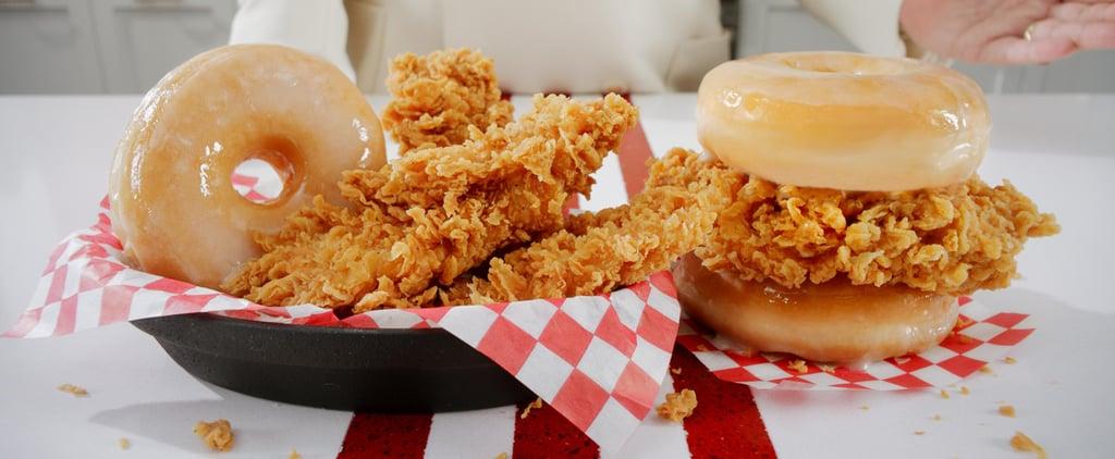 KFC Launching Fried-Chicken Doughnut Sandwiches Nationwide