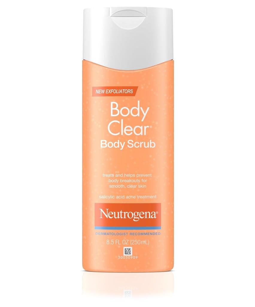 Best Body Scrub: Neutrogena Body Clear Body Scrub
