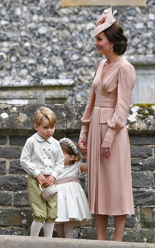 George and Charlotte at Pippa Middleton's Wedding Pictures ...